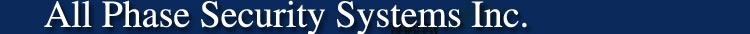 All Phase Security Systems Logo